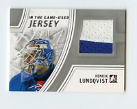 13/14 IN THE GAME-USED JERSEY #GUJ-11 HENRIK LUNDQVIST RANGERS *57599