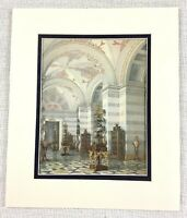 1983 Vintage Stampa The Romanov Royal Raccolta Galleria Interno Architettura