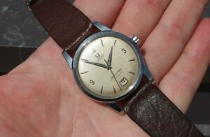 Omega Seamaster Calendar 2757 Automatic Bumper Watch Vintage Swiss Rare 1954
