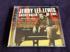 Jerry Lee Lewis : Great Balls Of Fire (1999) Prism Leisure CD UK 1956-1963
