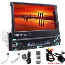 "7"" 1din Autoradio GPS Navi Car DVD CD Player Head Unit RDS HD Bluetooth Stereo"