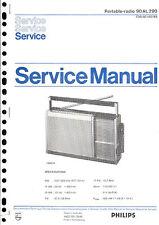 Philips  Original Service Manual für  90 AL 290