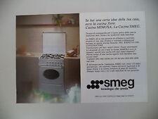 advertising Pubblicità 1987 CUCINA MIMOSA SMEG