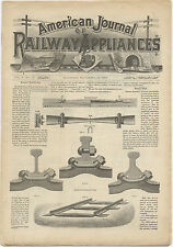 American Journal of Railway Appliances - original issue from November 28, 1885
