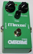 MAXON OD808 Overdrive Effects Pedal, New, Free Shipping, Maxon Authorized Dealer