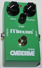 MAXON OD808 Overdrive Effektpedal, NEU MAXON Authorized Dealer
