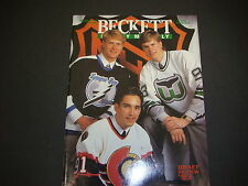Beckett Hockey Monthly Magazine September 1993 Alexandre Daigle Grant Fuhr M2182