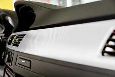 VVIVID8 white vinyl carbon fiber 50ft x 5ft car wrap DIY stretch film decal