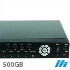 8 Channel 8CH System Security D1 DVR 500GB HDD Installed - iPhone internet H264