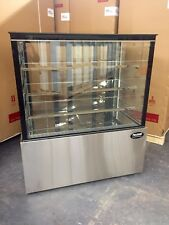"Bakery Case Refrigerated Pastry Deli 4' Display Case 48"" Cake Show Case New"