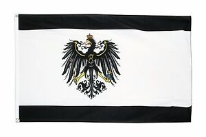 5x8 ft Prussia Prussian Eagle Crest Flag Rough Tex Knitted 5'x8' Banner