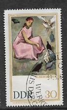 Sello usada República Democrática Alemana 1967-pinturas de Dresde Galería