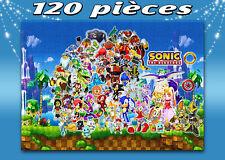 PUZZLE 120 PIECES A4 Sonic