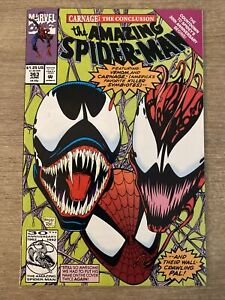 The Amazing Spider-Man #363 CARNAGE & VENOM from June 1992 in FN+/VF-