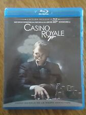 BLU-RAY * CASINO ROYALE *  007 JAMES BOND DANIEL CRAIG edition deluxe