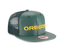 New Era 9FIFTY Oregon Ducks Green Sleek Trucker Adjustable Snapback Hat NCAA