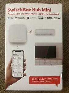 SwitchBot Hub Mini Smart Remote - IR Blaster, Link SwitchBot to Wi-Fi