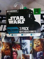 Star Wars Boxer Briefs  Size Large 10 Action underwear Luke skywalker