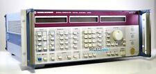 Rohde Amp Schwarz Smhu Signal Generator 100 Khz 4320 Mhz Look Ref 531e