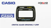 VINTAGE GLASS CASIO F-20W NOS