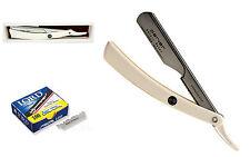 Navaja de afeitar Shavette Parker acero inoxidable 100 hojillas 100ptw L100b