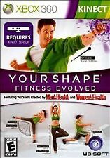 YOUR SHAPE FITNESS EVOLVED Xbox 360 Kinect Complete Game - GREAT CONDITION!