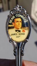 S. CONNERY JAMES BOND COLLECTOR SPOON w/Portrait Handle