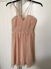 Peach/Pink Short/Race,Formal,Evening,Party,Cocktail Dress,DesignerMel Cup size S