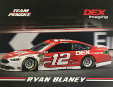 "2018 RYAN BLANEY ""DEX IMAGING 2ND VER"" #12 NASCAR MONSTER ENERGY POSTCARD"