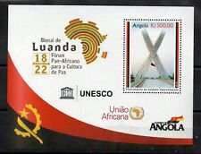 STAMPS - ANGOLA - PAN AFRICAN FORUM - UNESCO - M/S - 2020 -