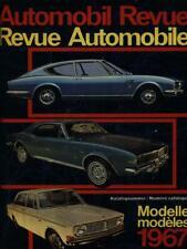 AUTOMOBIL REVUE 1967 PRIMA EDIZIONE AA.VV.  1967