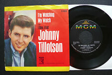 """7"""" Johnny Tillotson - I'm Watching My Watch - US MGM w/ Pic"""