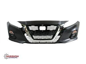For 2019-2020 Nissan Altima Front Bumper Grill Fog Signal Lights Bezels