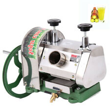 Commercial Manual Sugar Cane Press Juicer Juice Machine Cast Iron Handwheel