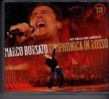 MARCO BORSATO Symphonica In Rosso Het Volledige Concert 2-CD BOX F LUCIE SILVAS