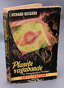 Fna Anticipation No ° 4 F.Richard Bessière 1951 Planète Wanderer Bel Condition
