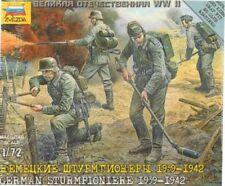 Zvezda 1/72 II Guerra Mundial Alemán Sturmpioniere 1939-42 #6110