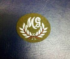 machine Gunner battle dress badge