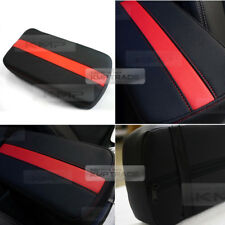 Sports Center Console Line Armrest Support Cushion Red Accessory For HONDA Car