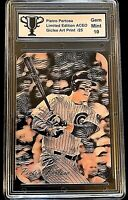 Anthony Rizzo #AR1 Pietro Pertosa ACEO Die-Cut Art Card  Print #1/25  GRADED 10