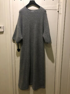zara knit dress medium