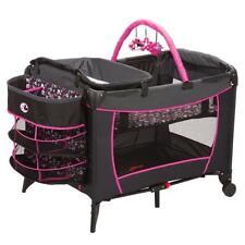 New Disney Deluxe Care Center Play Yard Crib Nursery Minnie Mouse Minnie Pop