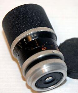 """Objectif """" KERN """" - MOUNT """" C """" - 9,5 et 16 mm - F 16  mm  -TBE - N° 171512"""