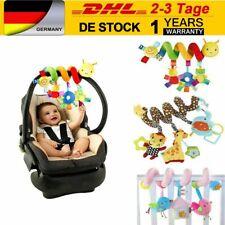 Baby Kinderwagenkette Rassel Bett Spielzeug Krippe Spirale Greiflinge Gift DE