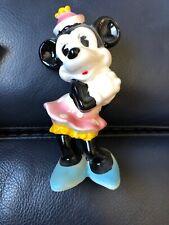 Minnie Mouse Ceramic figurine 1960's Enesco Walt Disney Productions