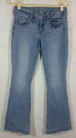 American Eagle Outfitters Womens Jeans Size 6 Short Blue Artist Stretch Pockets