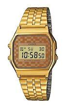 Casio Men's Digital Day and Date Watch, Gold, A159WGEA-9AD