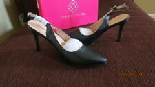 NEW BLACK WOMENS SLIM-POINTED HIGH HEEL PUMP SHOES SIZE 10 MADE BY DREAM PARIS