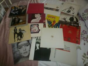 COLLECTION / JOB LOT 80's X 15 LP's Vinyl Records Rock / Pop
