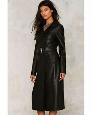 Nasty Gal In the Trenches Vegan Leather Coat XSMALL new coat
